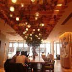 キーズカフェ大阪本町店<br />本町駅直近、wi-fiと電源あり。広い空間のパーフェクトなおススメカフェ