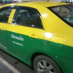 ドンムアン空港からスクンビットエリアまでタクシーで