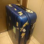 旅の相棒スーツケースが壊れました。寿命です